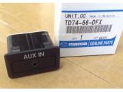 Разъём штатный аукс aux Mazda TD1166DFX TD11-66-DFX