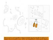Колодки передние Мазда СХ7, СХ9 L2Y63328Z