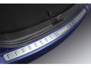 Хромированная накладка на задний бампер Мазда СХ-7 E221V4080G