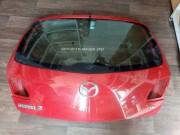 Крышка багажника ляда Мазда 3BK с 2003г со стеклом BP4K62761B BP4K63930B