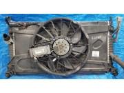 Диффузор вентиляторов охлаждения радиатора в сборе Мазда 3 BK 1.6 Z60115025E Z60115025G